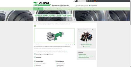 Produktseite mit aktuellen Produkt-Informationen