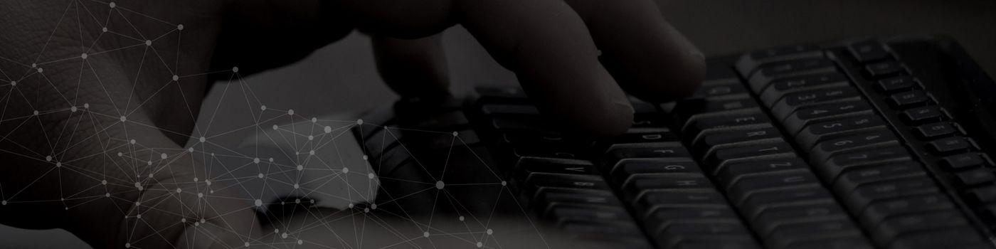 Banner Connetation Tastatur