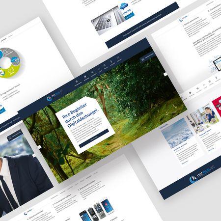 Neuer, responsiver Webauftritt & Optimierung der Website neteco.at