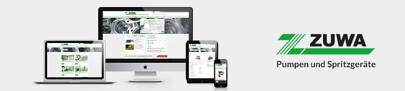 Responsive Website ZUWA-Zumpe GmbH